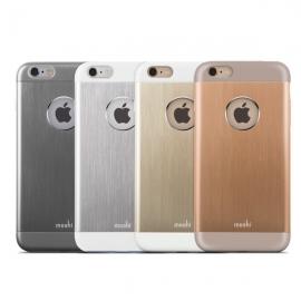 **摩仕(Moshi)铝制手机保护壳 iGlaze Armour适用于iPhone6s / 6 (砂金)
