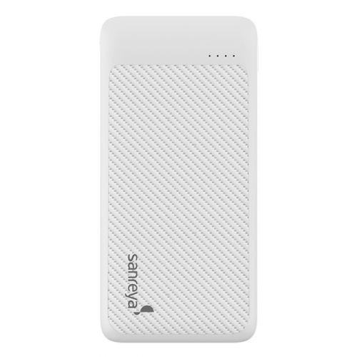 尚睿(Sanreya)10000毫安时双USB口移动电源 SL10(白色)