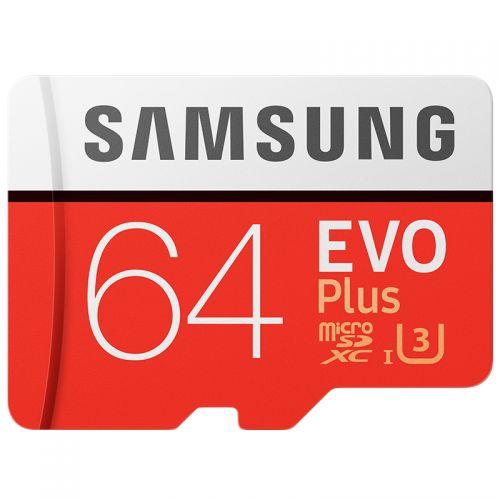 三星(SAMSUNG)TF64G存储卡MB-MC64G0(红)