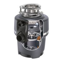产地美国 进口爱适易(ISE) E150 可接洗碗机 厨房厨余粉碎机食物垃圾处理器 150-7(黑色)