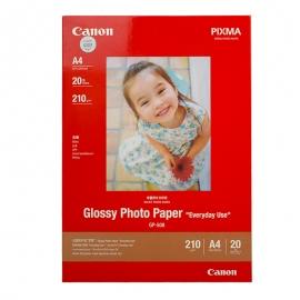 佳能(Canon)GP-508 高级光面照片相纸 A4(20张)