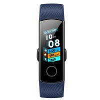 荣耀(HONOR)手环4 标准版 AMOLED彩屏触控智能手环(午夜蓝)CRS-B19