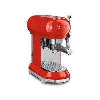 诗迈格(SMEG) 泵压咖啡机意式美式 半自动咖啡机 ECF01RDCN(红色)