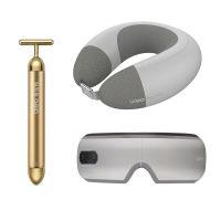 倍轻松(breo)iSee5 护眼仪 +iNeck air2颈部按摩器+黄金美容棒 三件礼盒套装 Breo-2020