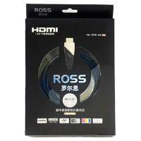 罗尔思(ROSS)3米高清HDMI线 LH130-B(黑色)