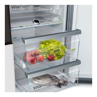 博世(Bosch)569升 LT字二级能效对开门冰箱 KAF96S20TI(白色)