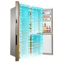 博世(BOSCH)569升 独立三循环 对开门冰箱KAF96A46TI(胡桃棕)