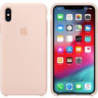 Apple iPhone XS Max 硅胶保护壳 MTFD2FE/A(粉砂色)【特价商品,非质量问题不退不换,售完即止】【清仓折扣】