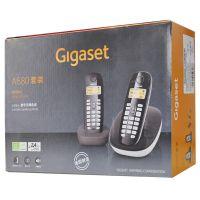 产地德国 进口集怡嘉(Gigaset)无绳电话机A680套装(卡布奇诺)