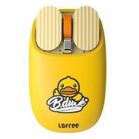 洛斐(Lofree)薯片蓝牙鼠标小黄鸭家用办公鼠标 EP115 (黄色)