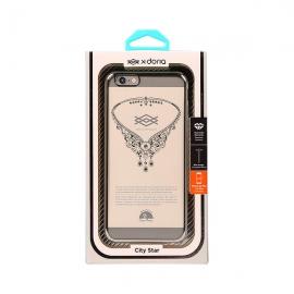 *X-doria 冬晶之恋保护壳(银色) 适用于iPhone 6 Plus /6s Plus