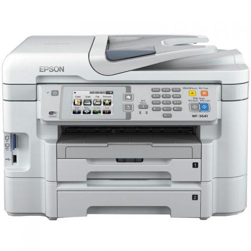 爱普生喷墨一体机 WF-3641  (打印+复印+扫描+传真+网络+WIFI)