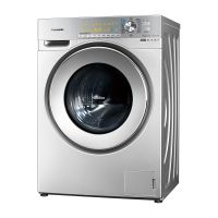 松下(Panasonic) 罗密欧系列 10公斤带烘干滚筒洗衣机XQG100-EG128(银色)