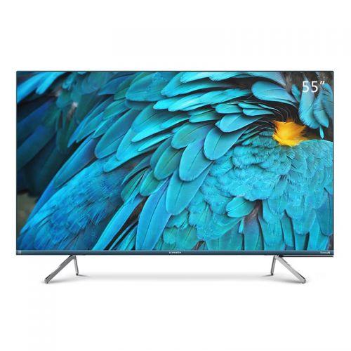 创维(Skyworth)55英寸4K高清液晶平面电视 55Q40(蓝色)