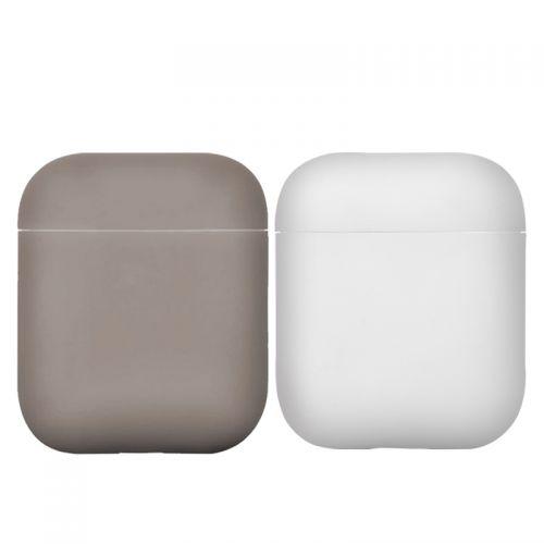 尚睿(Sanreya)Apple Airpods通用硅胶耳机保护套两件套(黑&白)【特价商品,非质量问题不退不换,售完即止】【清仓折扣】