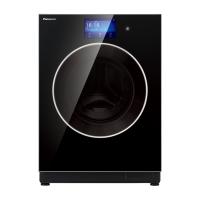 *松下(Panasonic)10公斤带烘干滚筒洗衣机 WiFi控制 XQG100-SD128(黑色)