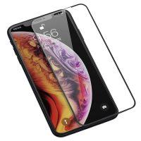 摩可(MOCOLL)3D曲面钢化玻璃膜iPhone11 手机适用(黑色)