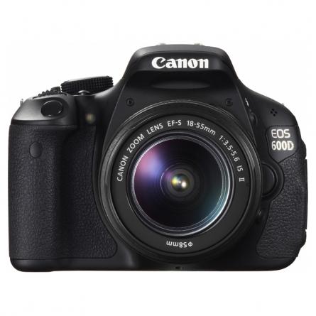 佳能Canon EOS 600D(EF-S18-55mmIS II镜头)单反相机套机