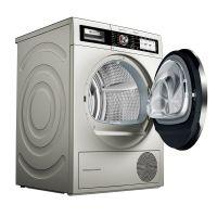产地波兰 进口博世(BOSCH) 9公斤 自清洁 热泵烘干 干衣机 WTY877691W(香槟金色)