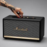 马歇尔(Marshall)Stanmore II 摇滚重低音无线蓝牙音箱(黑色)
