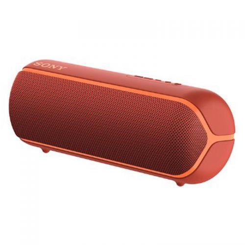 索尼(SONY)防水重低音便携无线扬声器 SRS-XB22/RCCN(红色)