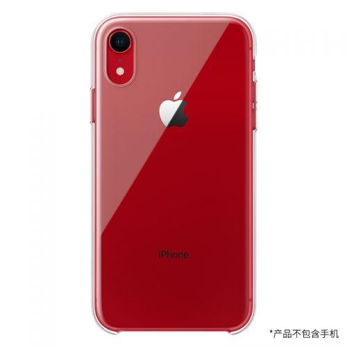 Apple iPhone XR保护壳 MRW62FE/A(透明)【特价商品,非质量问题不退不换,售完即止】【清仓折扣】