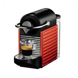 产地瑞士 进口奈斯派索(Nespresso)全自动胶囊咖啡机Pixie C60(红色)