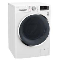 LG 9.5公斤 纤巧滚筒洗衣机 FY95WX4(奢华白)