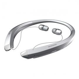 产地越南 进口LG  立体声颈带式蓝牙耳机HBS-910(银色)