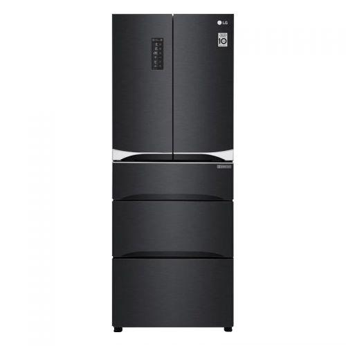 LG 447L 五门变频单循环智能存鲜多门冰箱 F448MC12B(曼哈顿午夜)