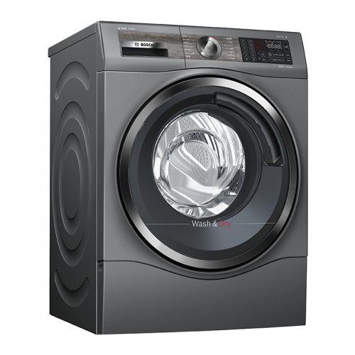 博世(BOSCH)10公斤 洗烘一体 滚筒洗衣机 WDU286610W(流光灰)