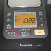 产地日本进口松下(Panasonic)5升IH电饭煲SR-HCC187KSA(黑色)