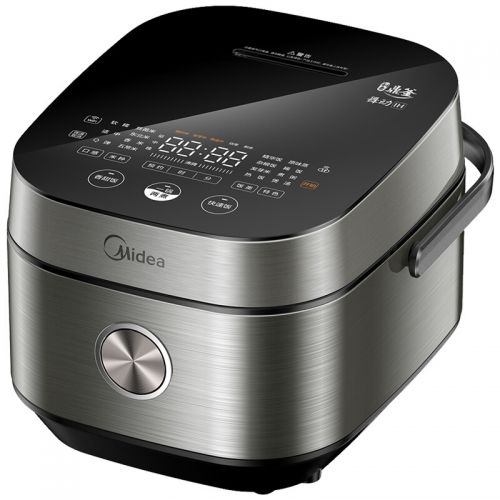 美的(Midea)4L电饭煲DHZ4001XM(银黑色)