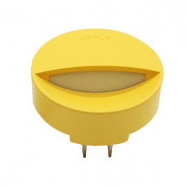 欧普(OPPLE)   LED防眩光小夜灯 MW65-D0.2×2(黄色)