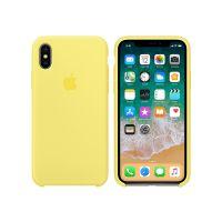 *Apple iPhone X 硅胶保护壳 MRG32FE/A(柠檬黄)