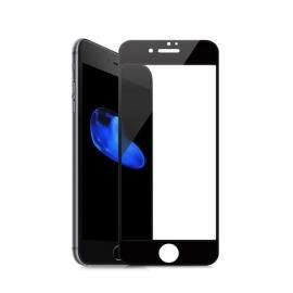 **珂玛(Comma )iPhone 7 钢化玻璃膜(亮面版防蓝光)0.18mm(黑色)