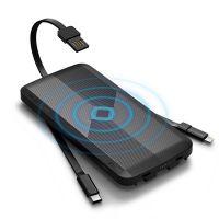 爱沃可(iWALK)8000毫安 无线充移动电源UBA8000(黑色)