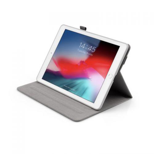 JCPAL 带笔扣织面保护套 iPad 9.7(灰色)