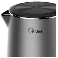 美的(Midea)1.7L 电水壶 MK-HJ1713a(灰色)