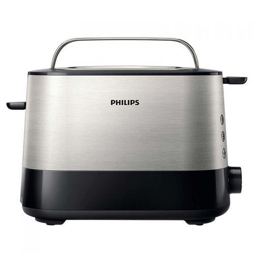 飞利浦(PHILIPS) 家用全自动多士炉 HD2638/21(黑色)