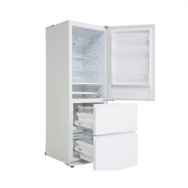 松下(Panasonic )380升 风冷无霜三门冰箱 NR-C380TX-XW(水晶白)