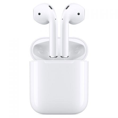 999元包邮  Apple AirPods  有线充电 配充电盒2019年新款苹果蓝牙耳机MV7N2CH/A(白色)