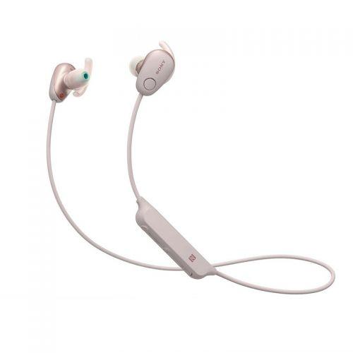 产地马来西亚 进口索尼(SONY)WI-SP600N  无线蓝牙运动防水降噪耳机(粉红色)