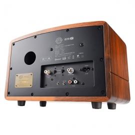 猫王(MAOKING)典藏级蓝牙收音机音箱 R602BPW(胡桃木)