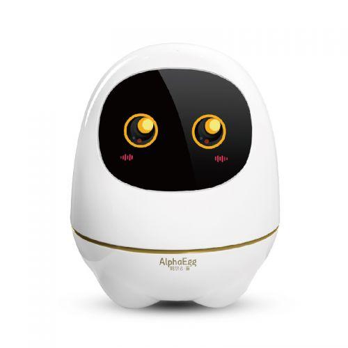 科大讯飞  阿尔法大蛋  陪伴学习智能机器人早教益智玩具 TYR101(白色)