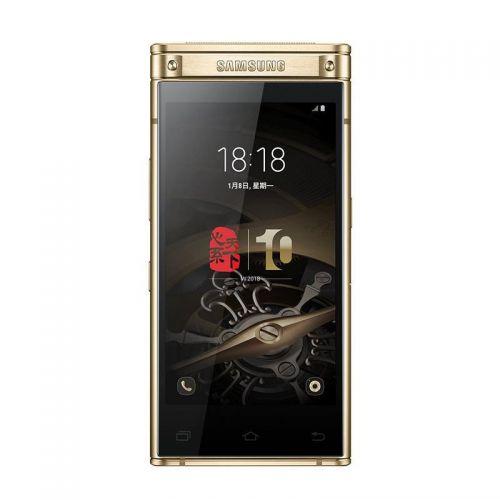 三星(SAMSUNG)心系天下W2018 6GB+64GB 全网通经典手机(雅金色)