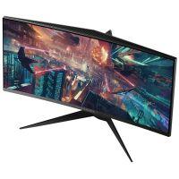 【订购】外星人(Alienware)34英寸 曲面游戏高清台式电脑显示器 AW3418HW(银灰色)