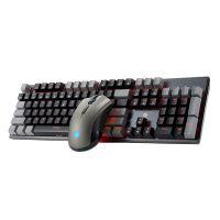 黑峡谷(Hyeku)游戏键鼠套装电竞鼠标键盘套装KM7100(灰色)