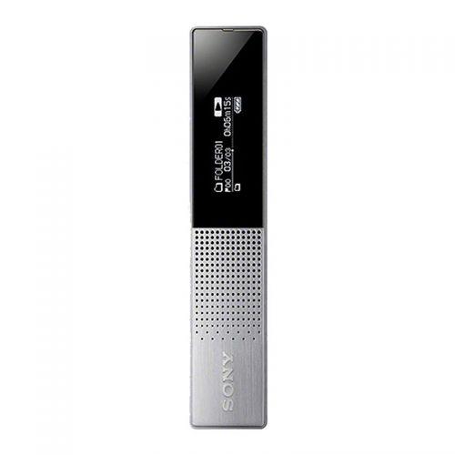 索尼(SONY)数码录音笔智能降噪微型便携商务会议录音笔ICD-TX650SC3CN(银色)