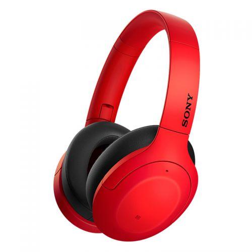 产地马来西亚 进口索尼(SONY)高解析度无线降噪立体声耳机 头戴式蓝牙耳机WH-H910N